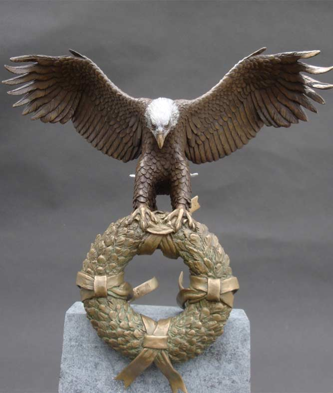 Eagle Wreath Veterans Memorial